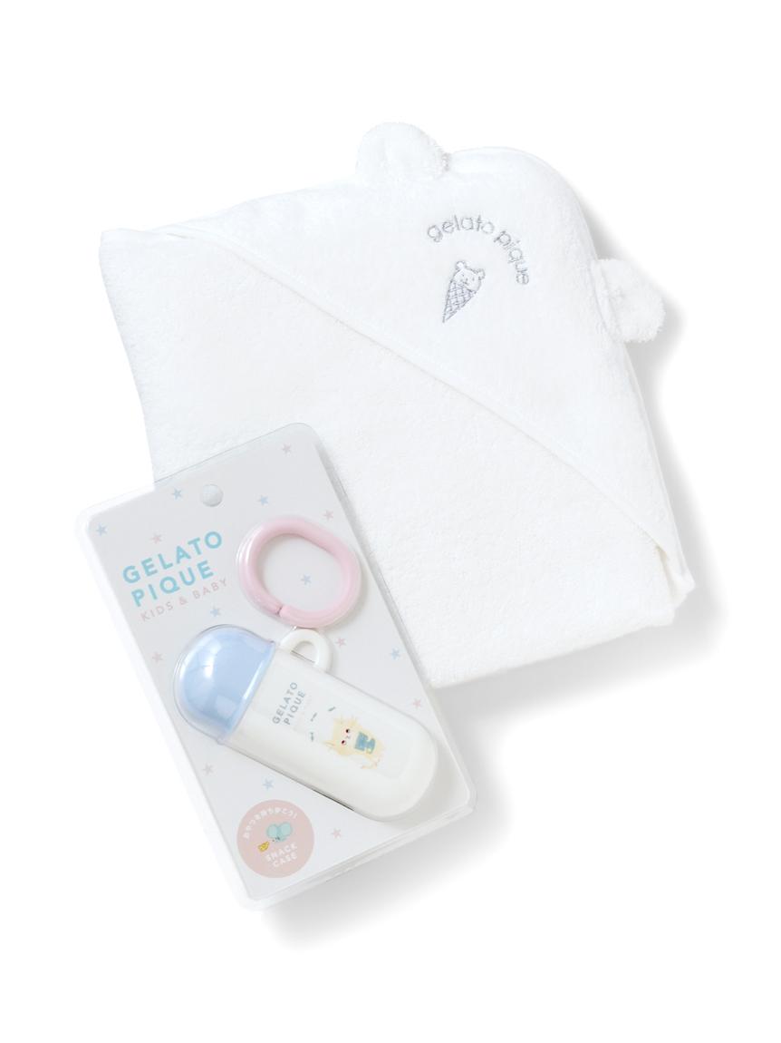 【ラッピング】Babyタオルブランケット&スナックケースSET(OWHT-F)