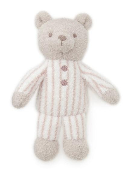 【BABY】'スムーズィー'ボーダーベアモチーフ baby ラトル(PNK-F)
