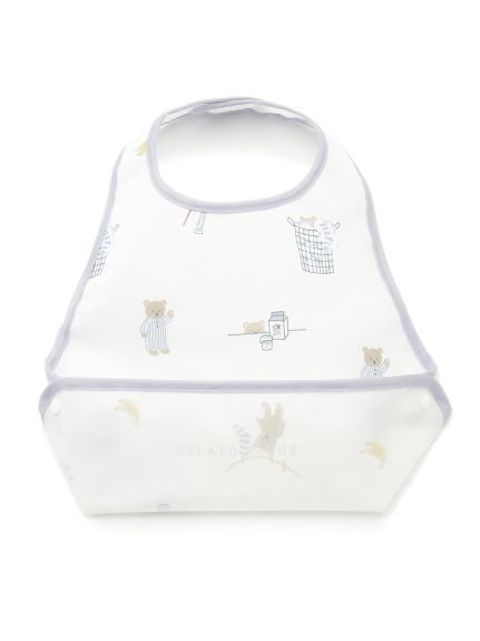 【BABY】モーニングベア baby お食事スタイ(OWHT-F)