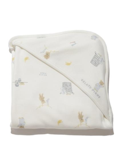 【BABY】モーニングベア baby ブランケット(OWHT-F)