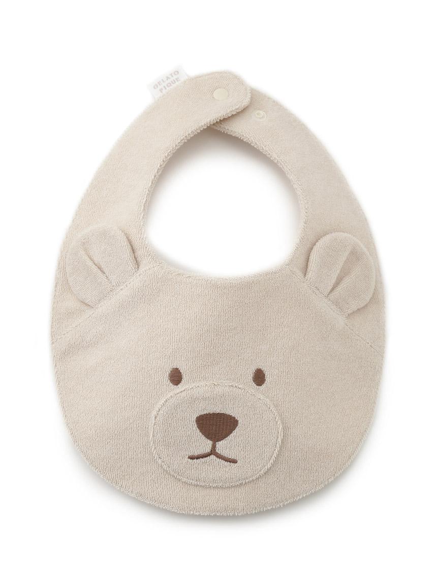 【ONLINE限定】【BABY】 ベアパイル baby スタイ(BEG-F)