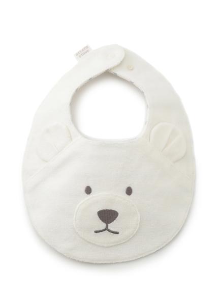 【ONLINE限定】【BABY】 ベアパイル baby スタイ(BLU-F)