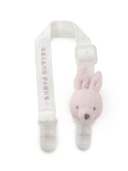 【BABY】 'リサイクル'スムーズィー'ウサギ baby マルチクリップ(PNK-F)