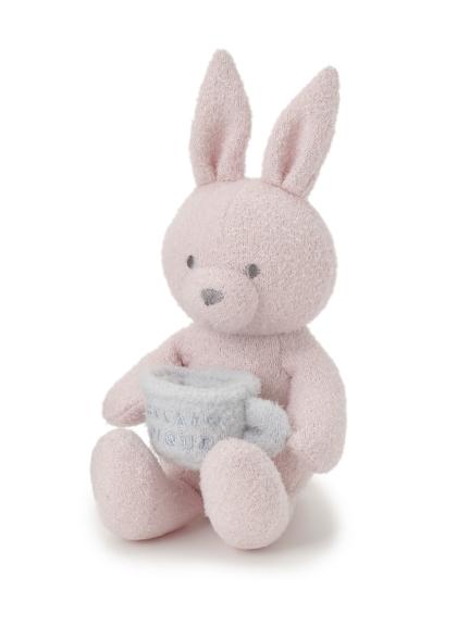 【BABY】 'リサイクル'スムーズィー'ウサギ baby ラトル(PNK-F)