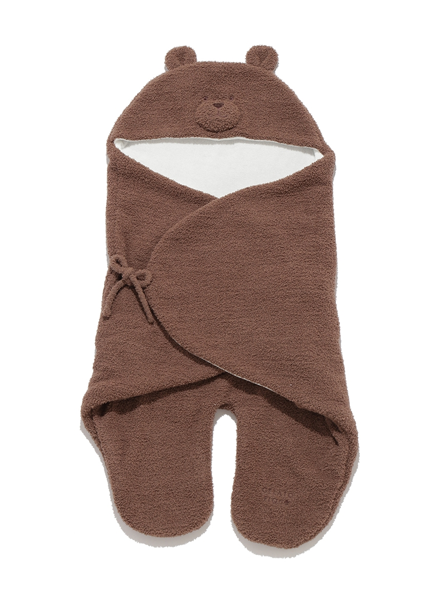 【BABY】 'ベビモコ'くまクッキー baby ブランケット(BRW-F)