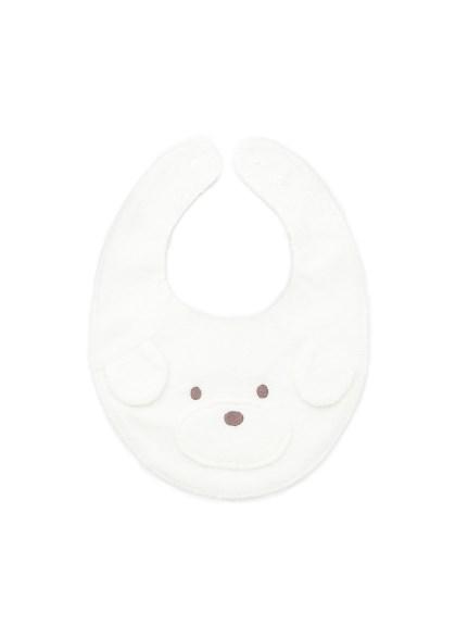 【BABY】メレンゲドッグ柄 baby マルチーズスタイ(OWHT-F)