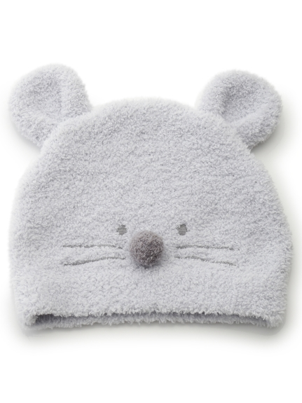 【BABY】'ベビモコ'ネズミ baby キャップ(BLU-F)