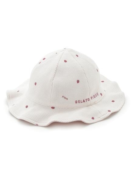 【BABY】ストロベリー baby ワッフルキャップ