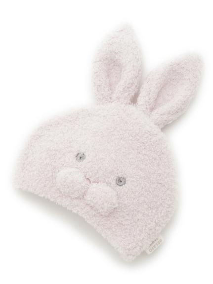 'パウダー'ウサギ baby キャップ(PNK-F)