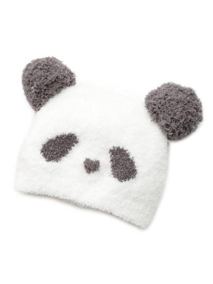 【BABY】'ベビモコ'パンダ baby キャップ(OWHT-F)