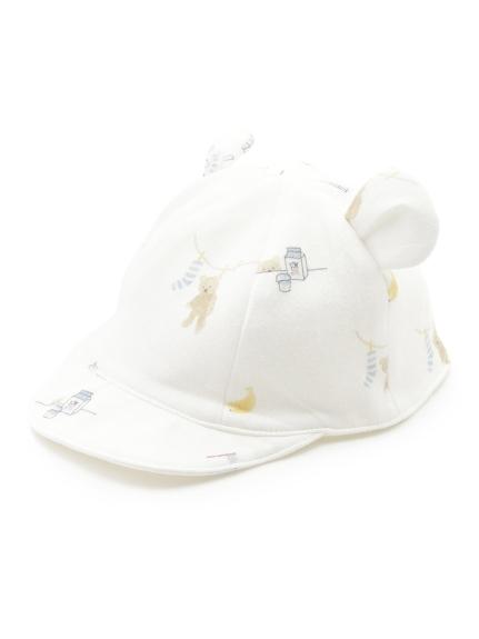 【BABY】モーニングベア baby キャップ(OWHT-F)