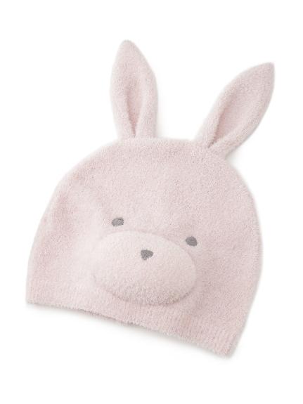 【BABY】 'リサイクル'スムーズィー'ウサギ baby キャップ(PNK-F)