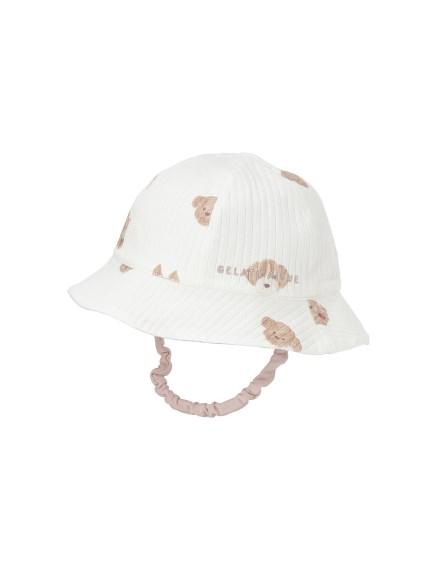 【BABY】メレンゲドッグ柄 baby ハット