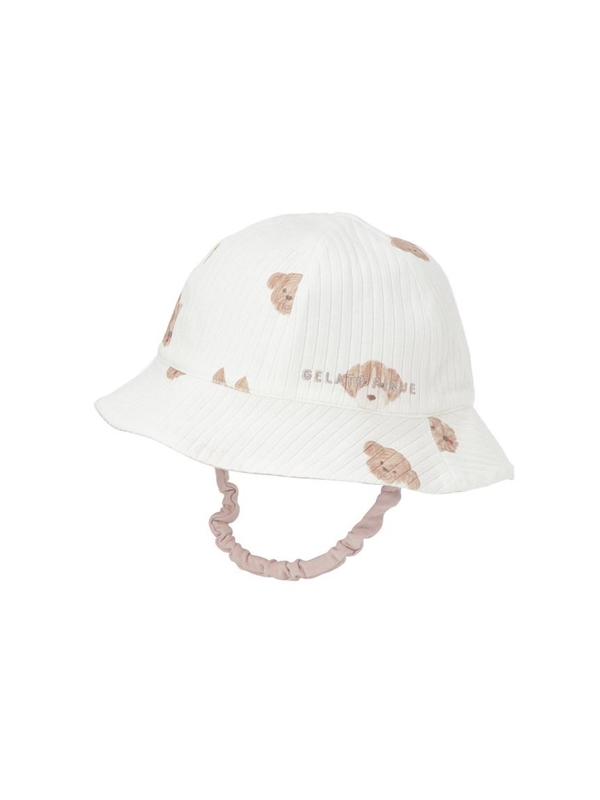 【BABY】メレンゲドッグ柄 baby ハット(OWHT-F)
