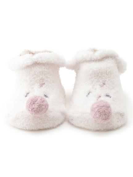 【BABY】'スムーズィー'アイスクリーム baby ソックス(PNK-F)