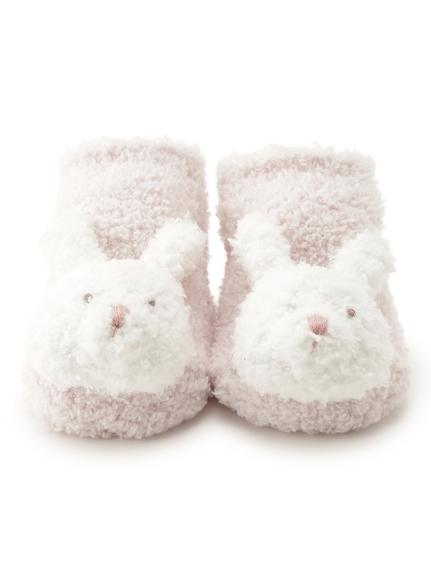 【BABY】'ベビモコ'ウサギ baby ソックス