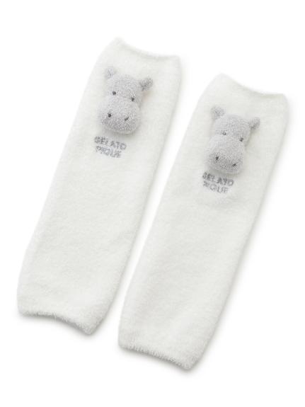 【旭山動物園】'スムーズィー'カバ baby レッグウォーマー