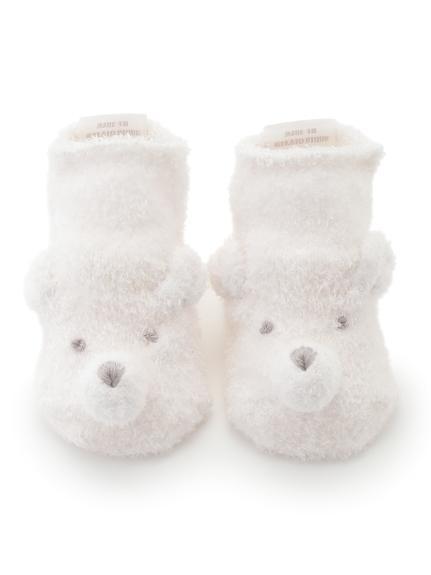 【旭山動物園】'スムーズィー'クマ baby ソックス
