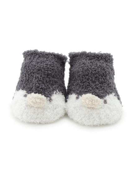 【BABY】【旭山動物園】ペンギン baby ソックス(NVY-7)