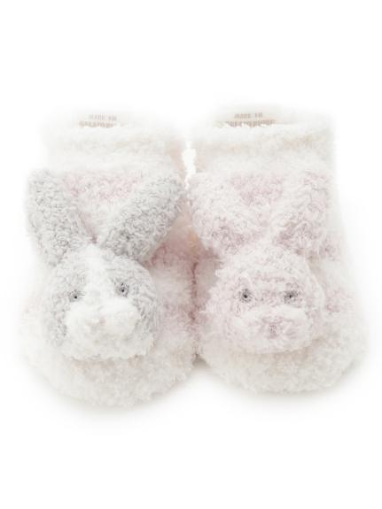 'パウダー'ウサギ baby ソックス(PNK-7)