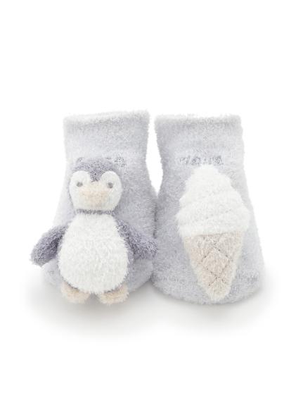 【BABY】'スムーズィー' baby ペンギンソックス(BLU-7)