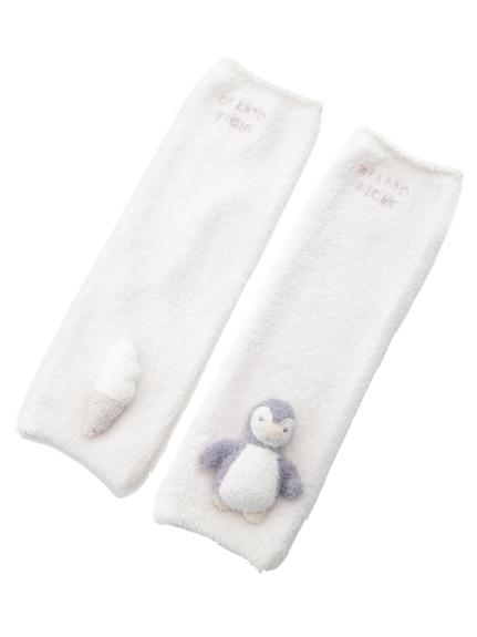 【BABY】'スムーズィー' baby ペンギンレッグウォーマー(PNK-F)