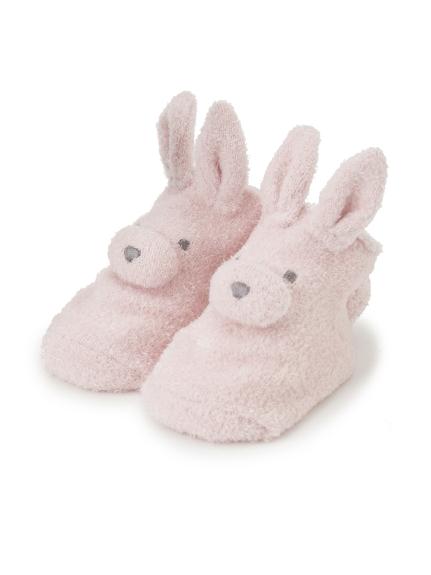 【BABY】 'リサイクル'スムーズィー'ウサギ baby ソックス(PNK-7)