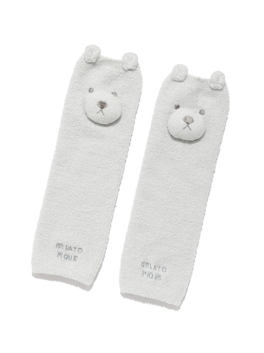 【BABY】 'リサイクル'スムーズィー'くま baby レッグウォーマー(MNT-F)