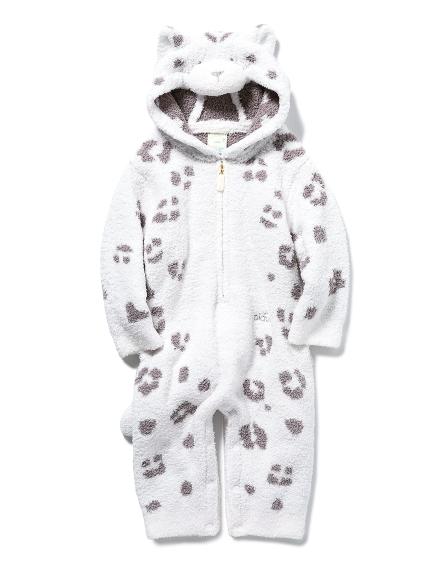 【BABY】【旭山動物園】ONLINE限定 ユキヒョウ baby ロンパース