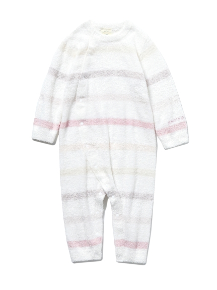 【BABY】'スムーズィー'6ボーダー baby ロンパース