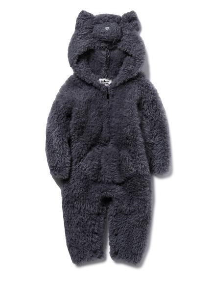 【BABY】【Halloween限定】 ネコモコ baby ロンパース(GRY-70)