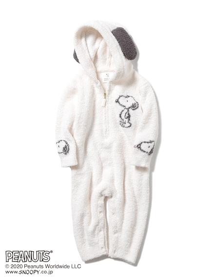 【PEANUTS】ジャガード baby ロンパース(OWHT-70)