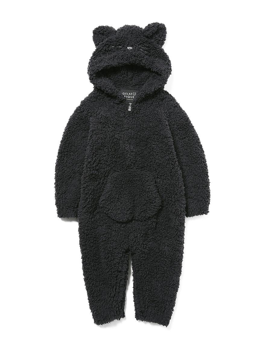 【Halloween限定】【BABY】 'ジェラート'クロネコロンパース(BLK-70)