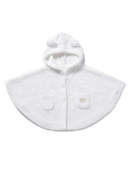 【BABY】'パウダー'ベーシックbabyポンチョ(OWHT-70)