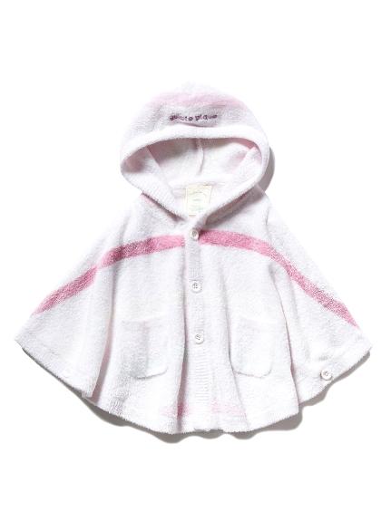 【BABY】'スムーズィー'5ボーダー baby ポンチョ