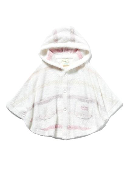 【BABY】'スムーズィー'6ボーダー baby ポンチョ