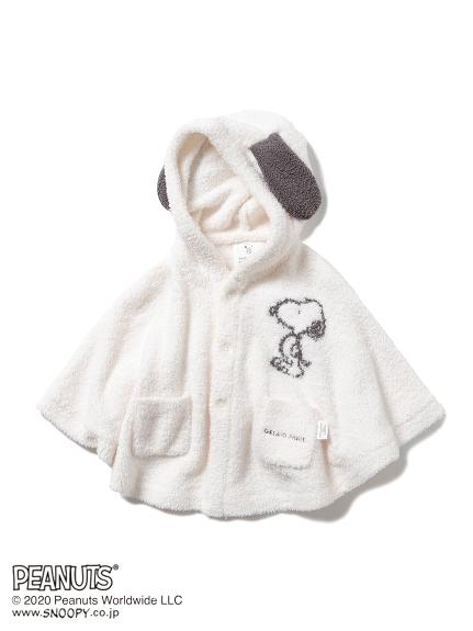 【PEANUTS】ジャガード baby ポンチョ