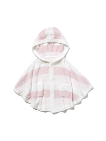 【BABY】 リサイクル'スムーズィー'3ボーダー baby ポンチョ