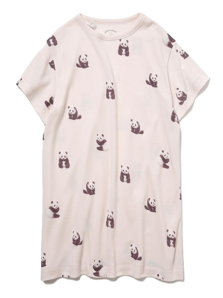 【JUNIOR】 【ONLINE限定】パンダモチーフ junior ドレス(BEG-130-140)