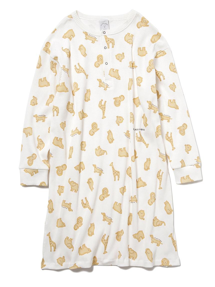 【JUNIOR】 【ONLINE限定】クッキーアニマルモチーフ junior ドレス(OWHT-130-140)