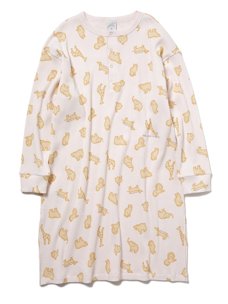 【JUNIOR】 【ONLINE限定】クッキーアニマルモチーフ junior ドレス(PNK-130-140)
