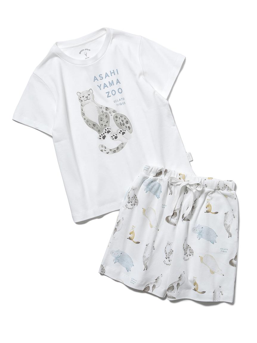 【旭山動物園】【junior】Tシャツ&ハーフパンツSET(OWHT-130-140)