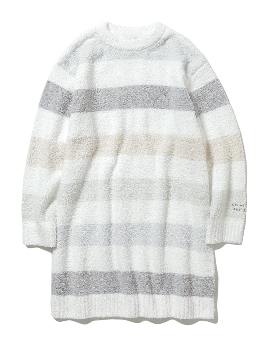 【オフィシャルオンラインストア限定】【junior】ベビモコ5ボーダージュニアドレス(BLU-130-140サイズ)