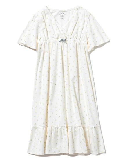 【KIDS】リトルフラワー kids ドレス(YEL-XXS)