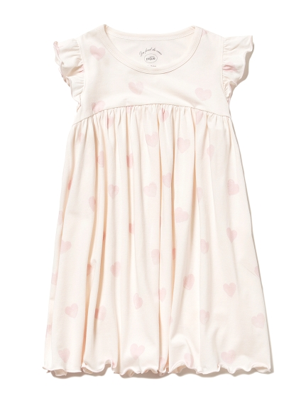ハートモチーフ kids ドレス(PNK-XXS)