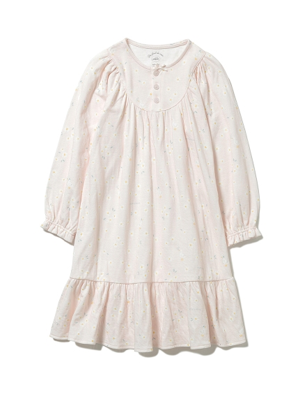 【KIDS】デイジーモチーフ kids ドレス(PNK-XXS)
