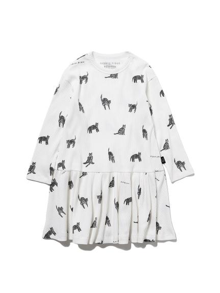 【KIDS】【Halloween限定】クロネコモチーフドレス(OWHT-XXS)
