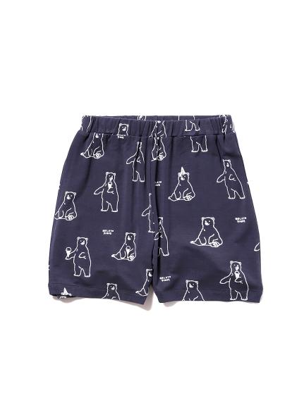 【シロクマフェア】シロクマモチーフ冷感 kids ショートパンツ