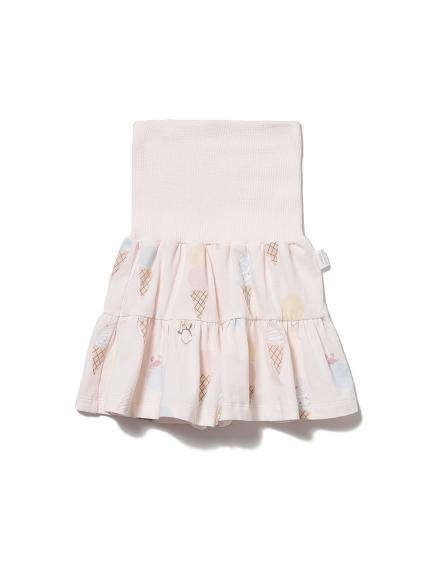 【KIDS】アイスクリームアニマルモチーフ kids ショートパンツ