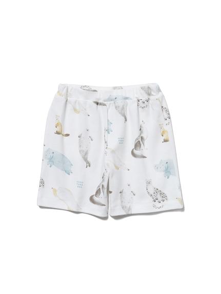 【KIDS】【旭山動物園】アニマルモチーフ kids ハーフパンツ